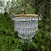 1930s crystal chandelier