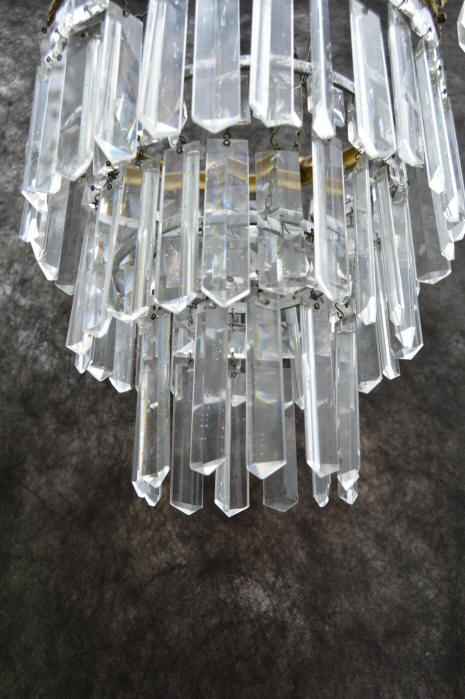A Gorgeous 1930s Crystal Chandelier