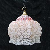 Art Deco Floral Petal Ceiling Light