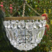 Mid 20th Century Bag Chandelier