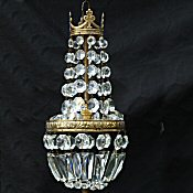 Small Edwardian Empire Style Chandelier