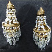 Pair of 1930 Icicle drop Wall Lights