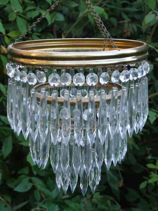 20th Century 3Tier Icicle Drop Chandelier