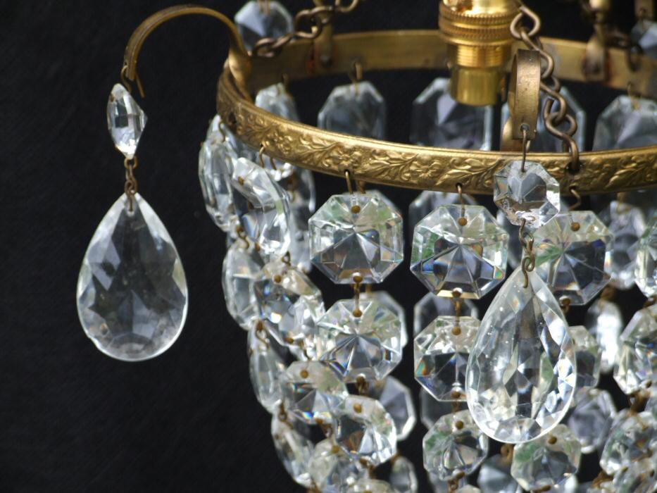Small Edwardian Purse Chandelier