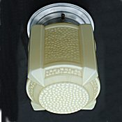 1930 Art Deco Cream Ceiling Light
