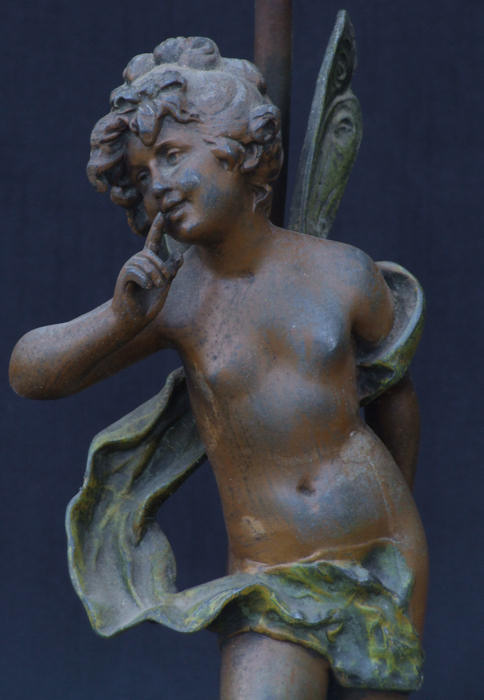 Circa 1900 Cold Painted Winged Nymph